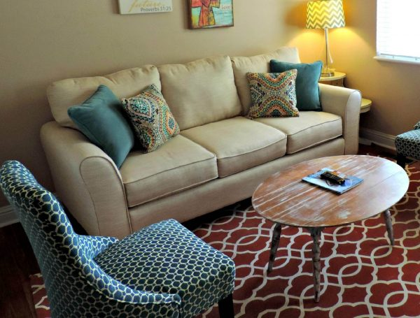 Green and Spotless Sofa - Upholstery Cleaning
