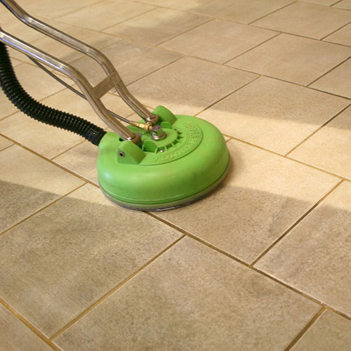 Tile & Grout Steam-Pressure Cleaning - Green & Spotless